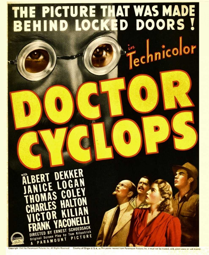 DR. CYCLOPS Everett Collection 111735