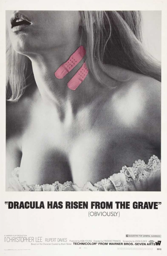 DRACULA HAS RISEN FROM THE GRAVE Everett Collection 114879