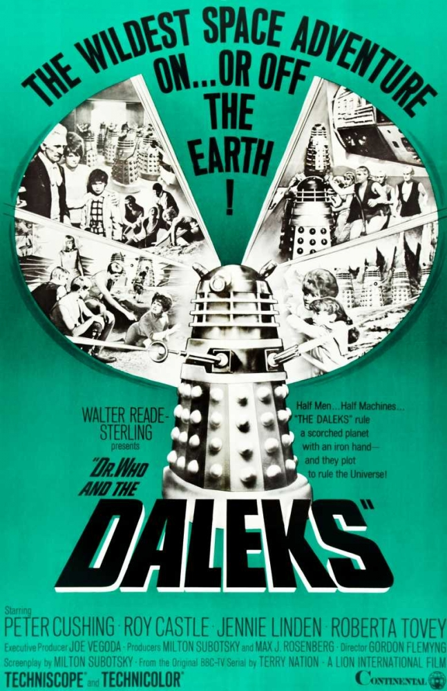 DR. WHO AND THE DALEKS Everett Collection 114647
