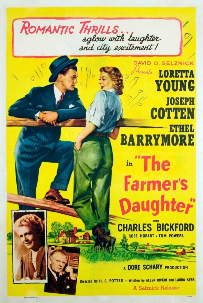 THE FARMERS DAUGHTER Everett Collection 112329