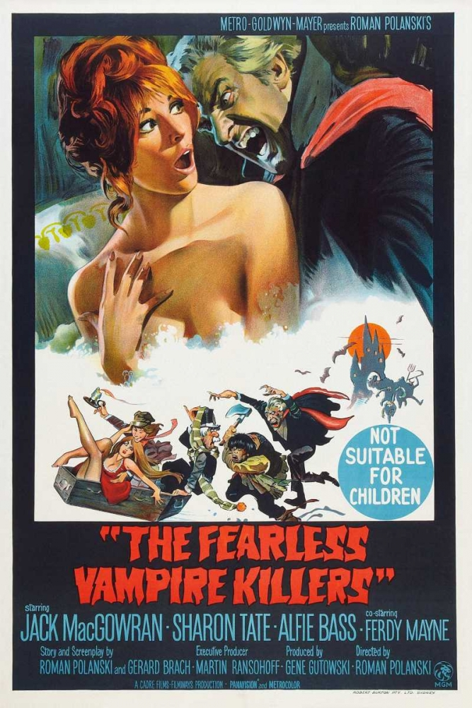 THE FEARLESS VAMPIRE KILLERS Everett Collection 114793