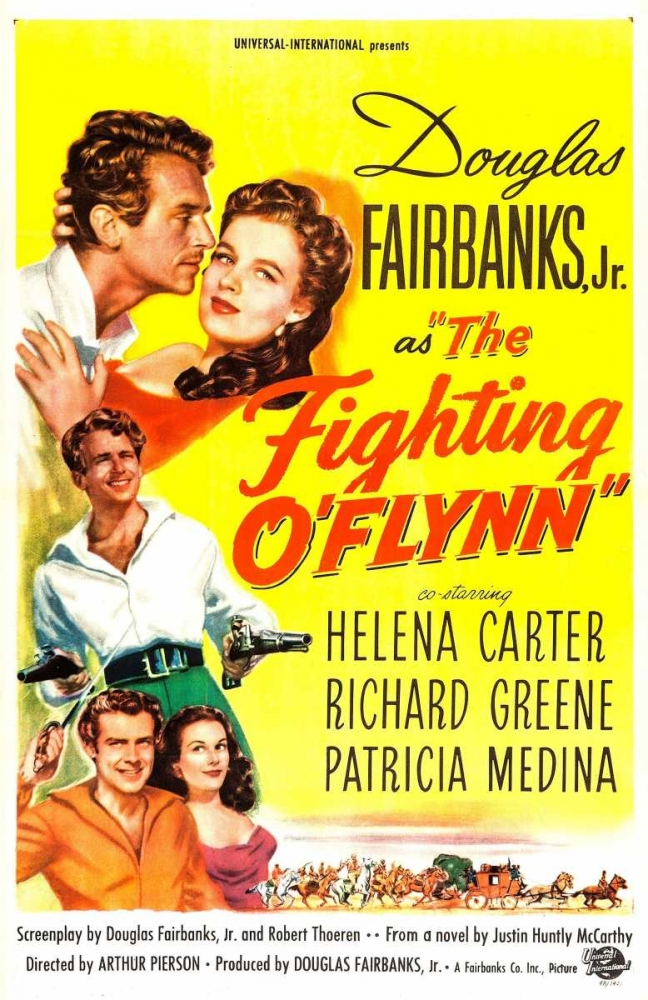THE FIGHTING OFLYNN Everett Collection 112461
