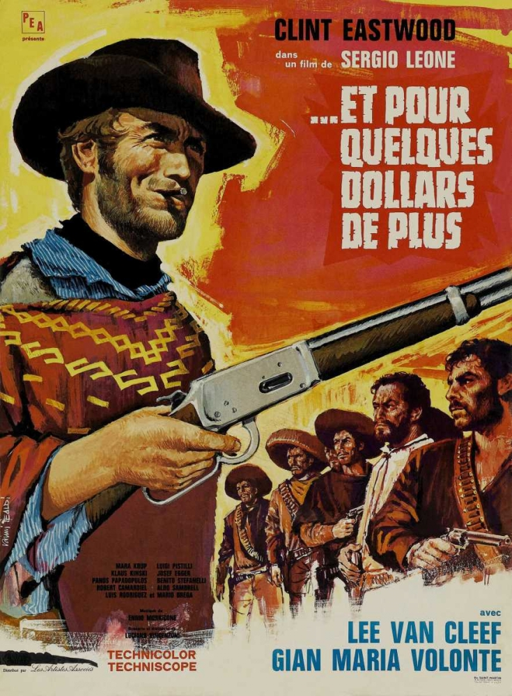 FOR A FEW DOLLARS MORE Everett Collection 114630