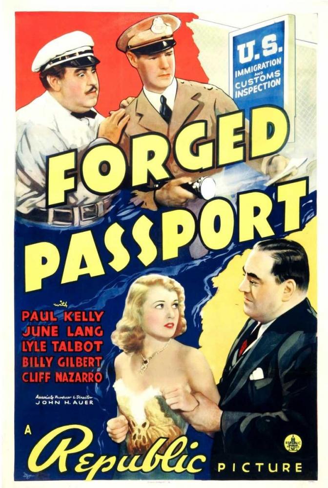 FORGED PASSPORT Everett Collection 111177