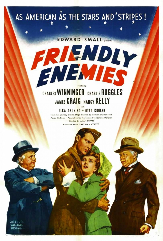 FRIENDLY ENEMIES Everett Collection 111908