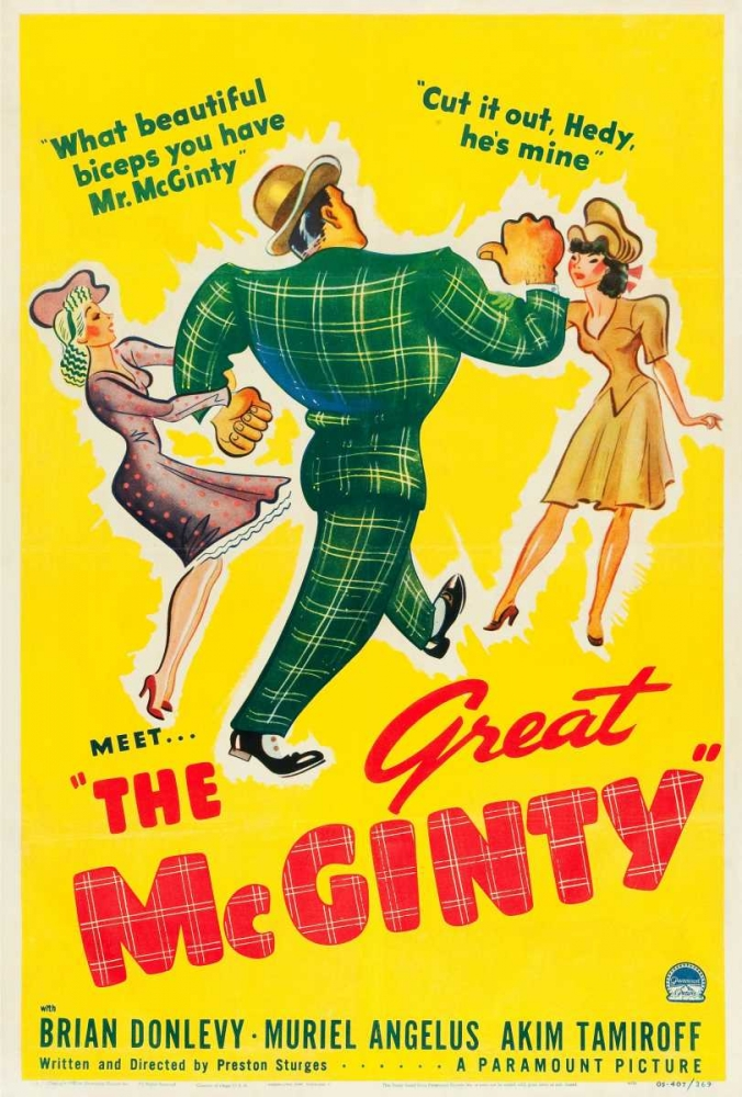 THE GREAT MCGINTY Everett Collection 111755