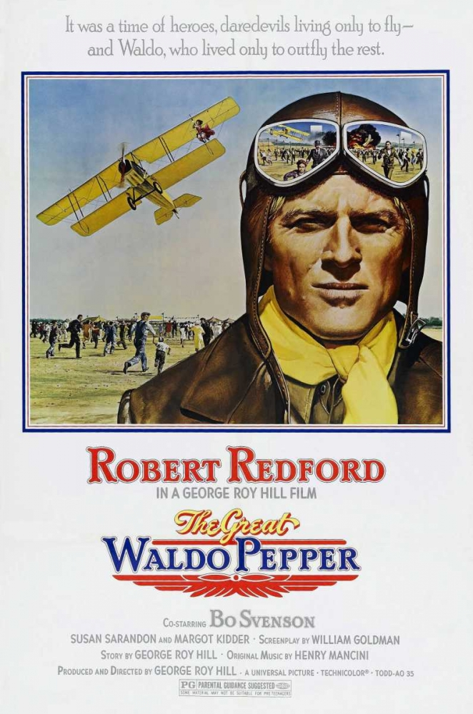 THE GREAT WALDO PEPPER Everett Collection 115651
