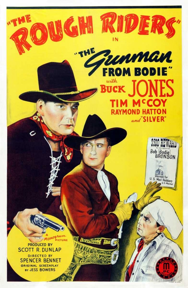 THE GUNMAN FROM BODIE Everett Collection 112537