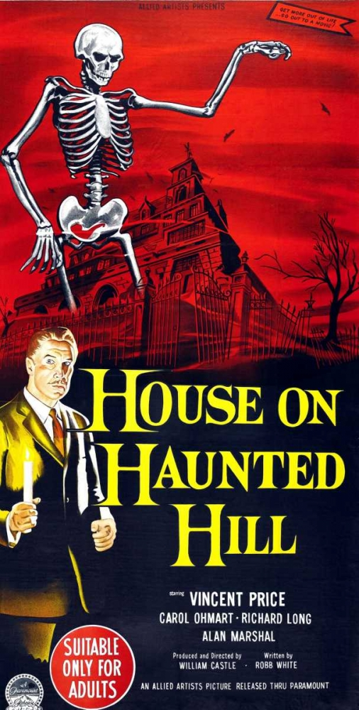 HOUSE ON HAUNTED HILL Everett Collection 113333
