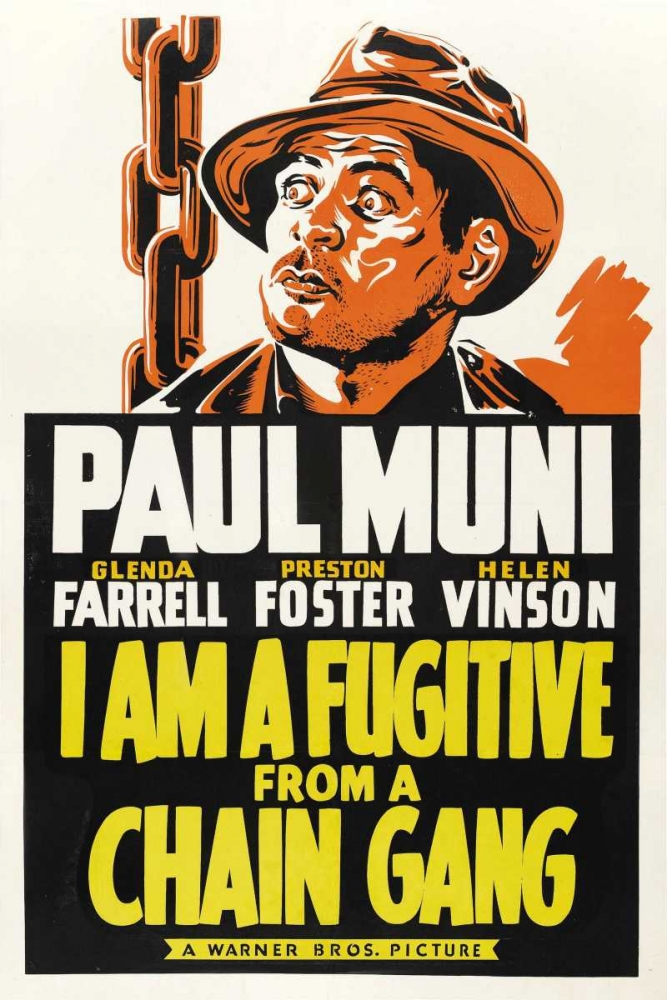 I AM A FUGITIVE FROM A CHAIN GANG Everett Collection 109564