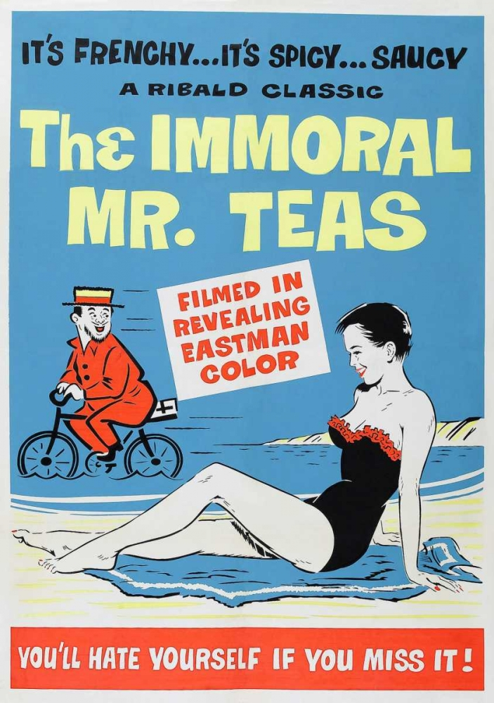 THE IMMORAL MR. TEAS Everett Collection 113857
