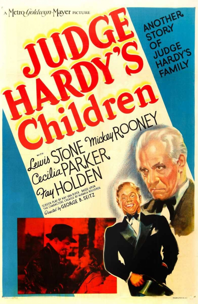 JUDGE HARDYS CHILDREN Everett Collection 110849