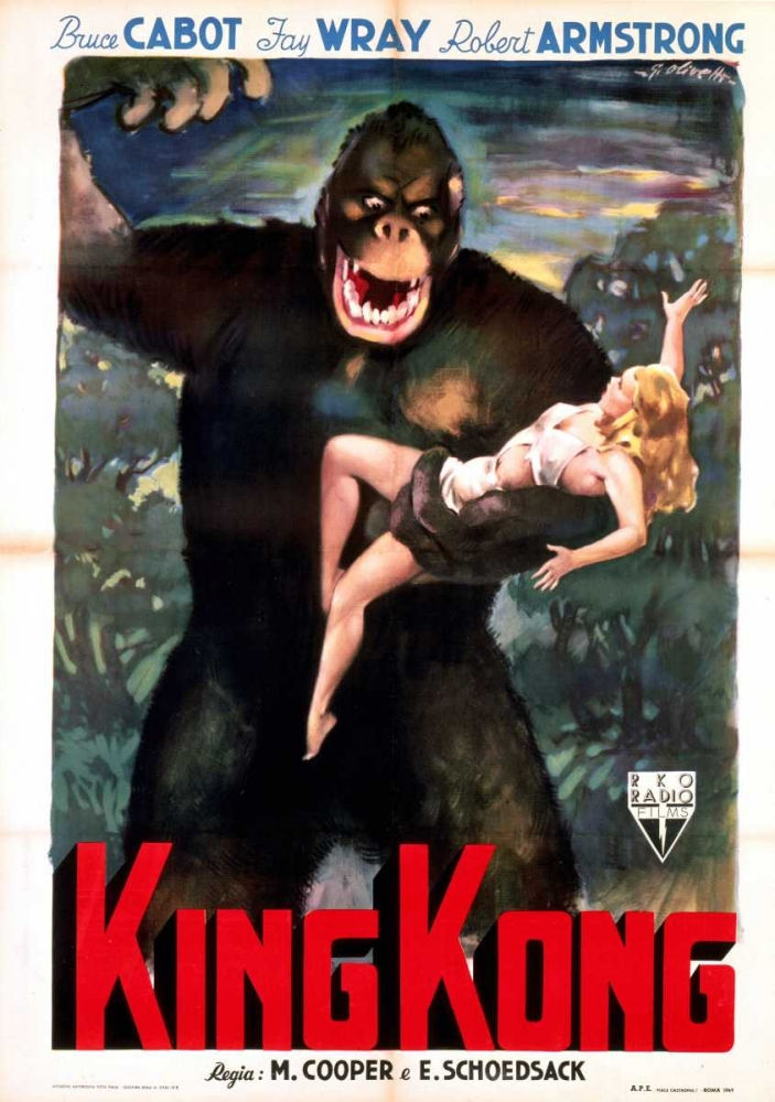King Kong Everett Collection 109833