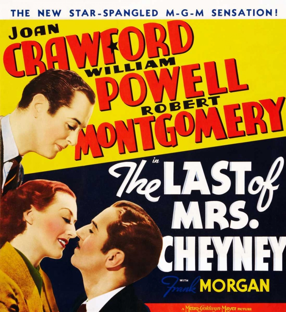 THE LAST OF MRS. CHEYNEY Everett Collection 110514