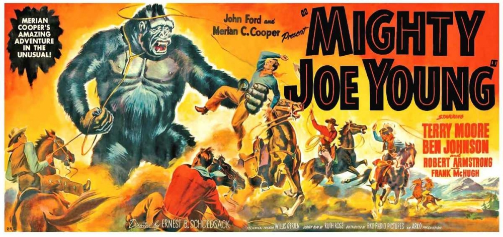 MIGHTY JOE YOUNG Everett Collection 112478
