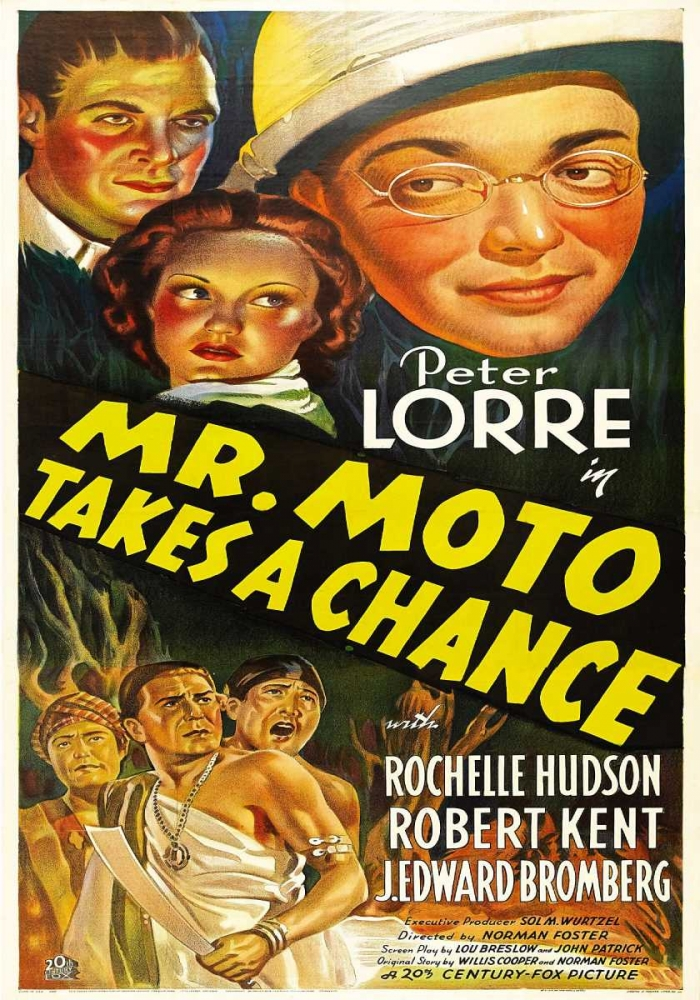 MR. MOTO TAKES A CHANCE Everett Collection 110926