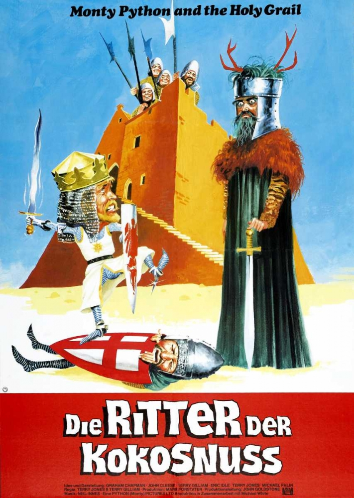 MONTY PYTHON AND THE HOLY GRAIL Everett Collection 115308