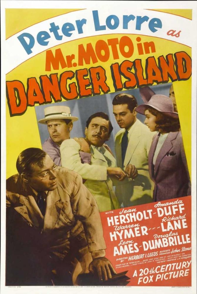 MR. MOTO IN DANGER ISLAND Everett Collection 111149