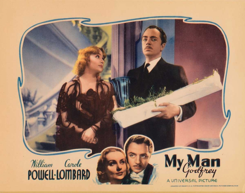 MY MAN GODFREY Everett Collection 110433