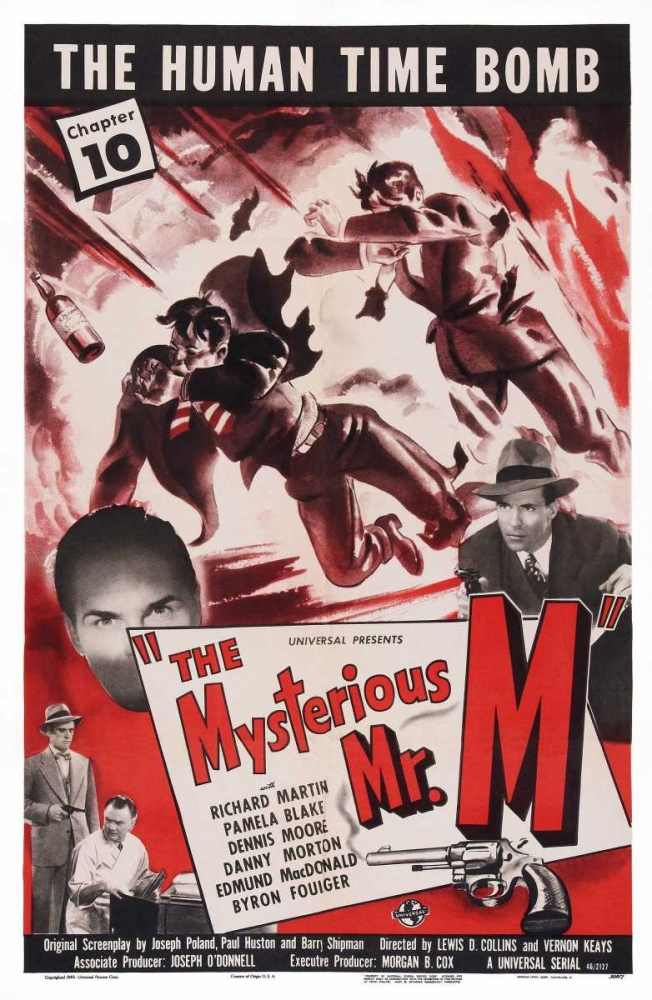 THE MYSTERIOUS MR. M Everett Collection 112212