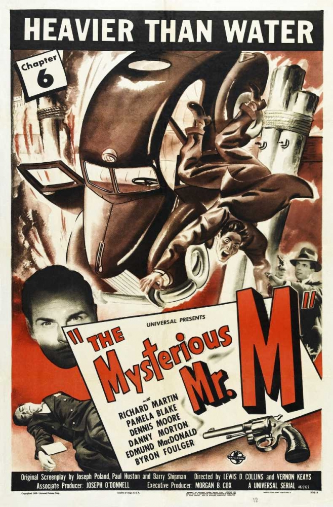 THE MYSTERIOUS MR. M Everett Collection 112222
