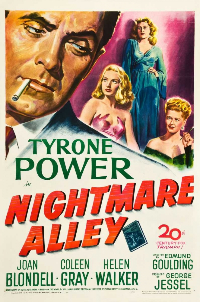 NIGHTMARE ALLEY Everett Collection 112359