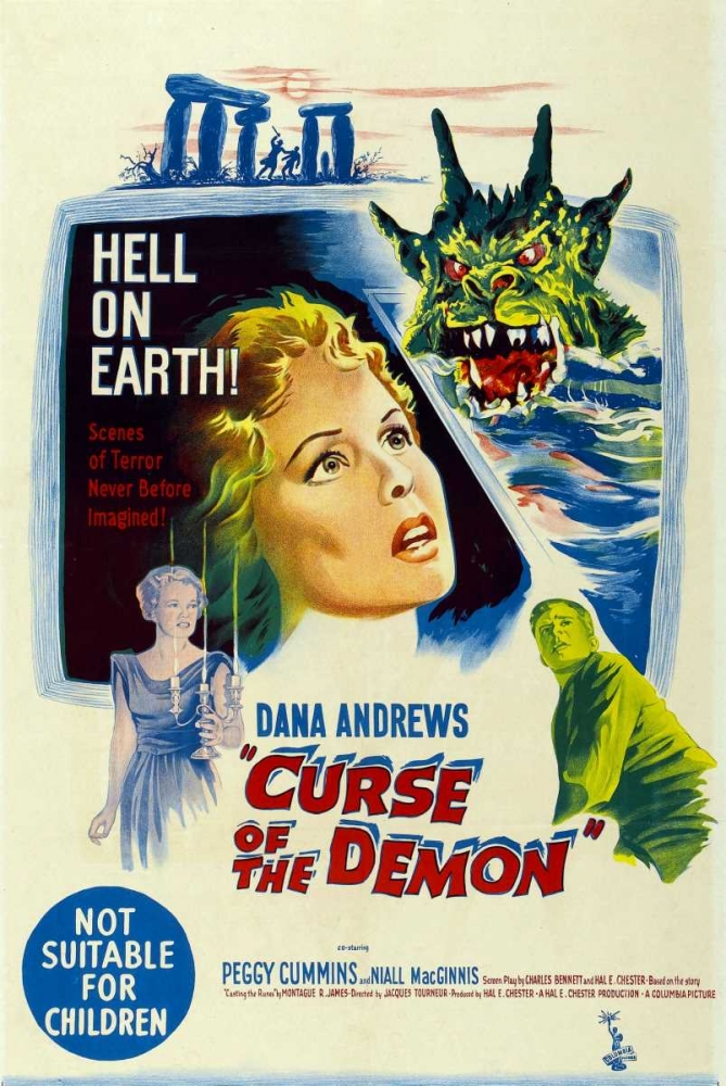 NIGHT OF THE DEMON Everett Collection 114064