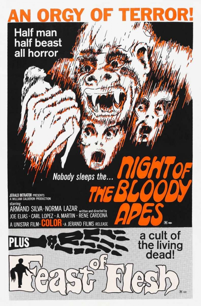 NIGHT OF THE BLOODY APES Everett Collection 114914