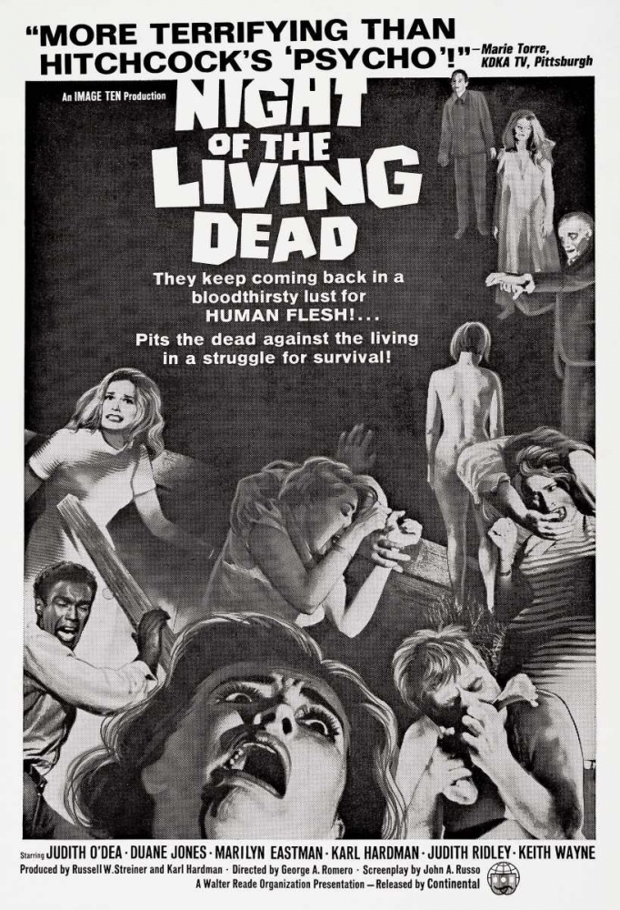 NIGHT OF THE LIVING DEAD Everett Collection 114824