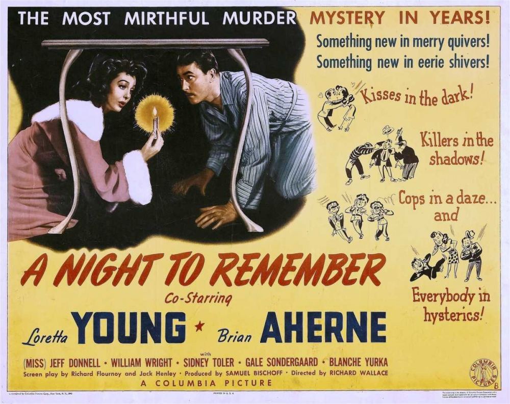 A NIGHT TO REMEMBER Everett Collection 111884
