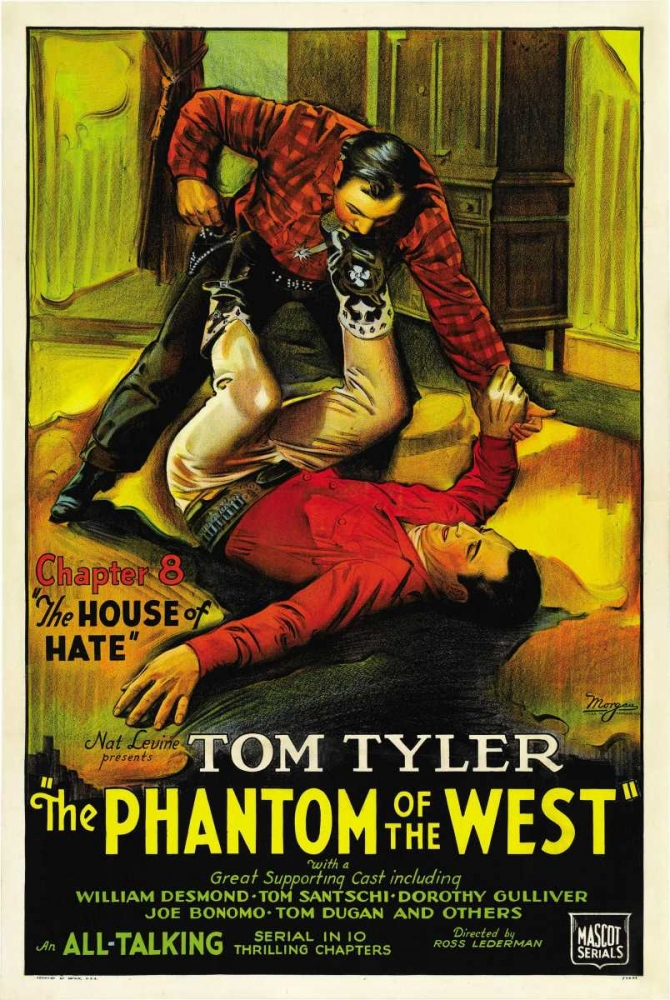 THE PHANTOM OF THE WEST Everett Collection 109378