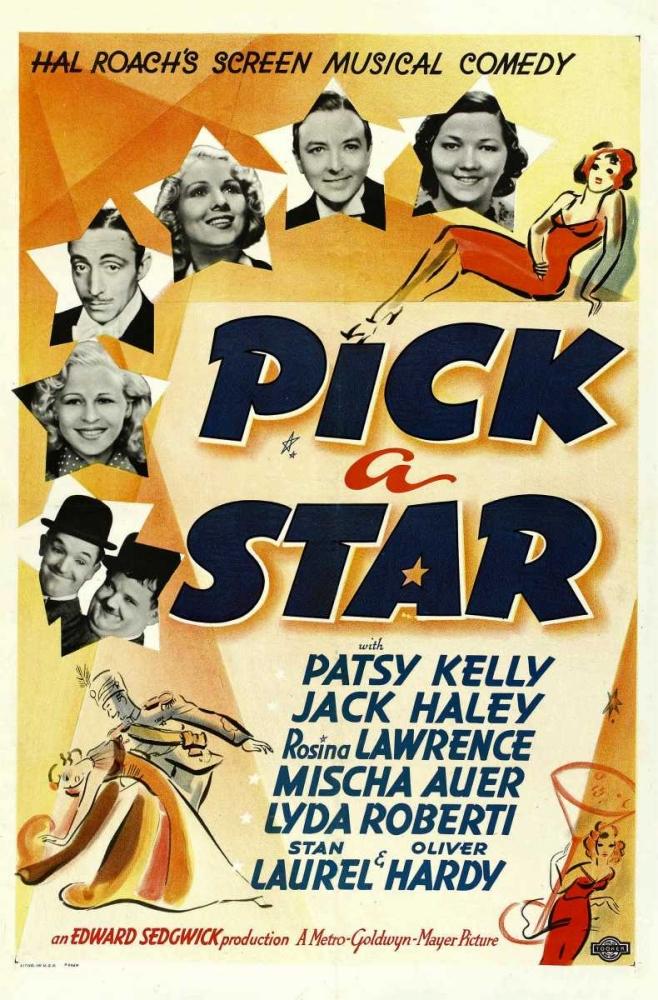 PICK A STAR (aka MOVIE STRUCK) Everett Collection 110604