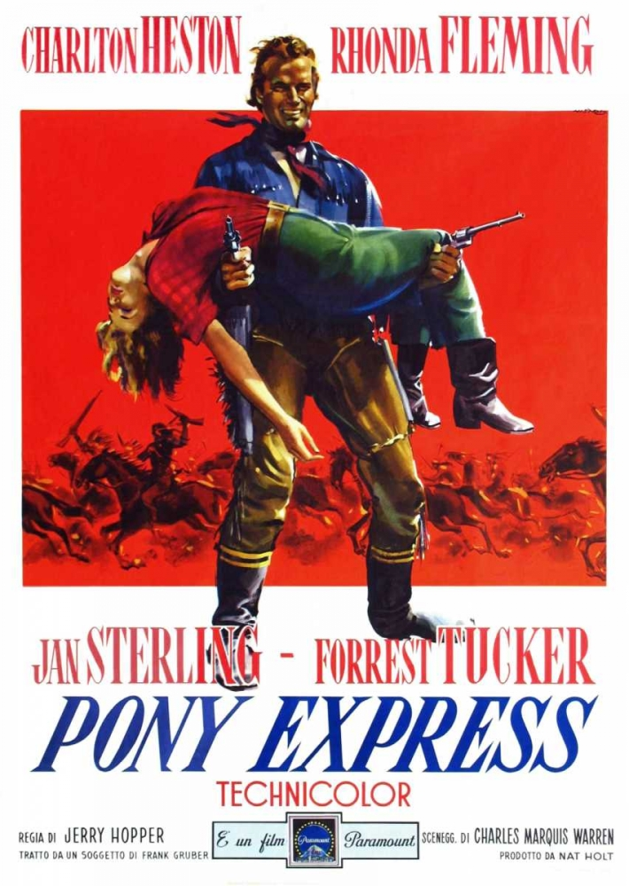 PONY EXPRESS Everett Collection 113609