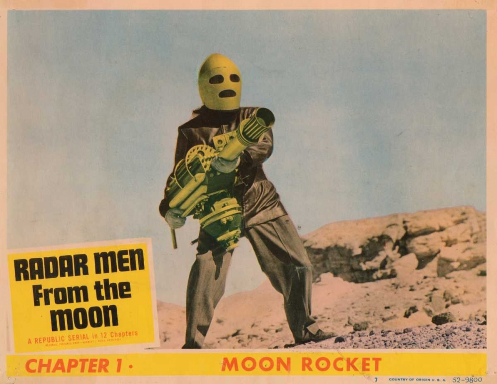 RADAR MEN FROM THE MOON Everett Collection 113518