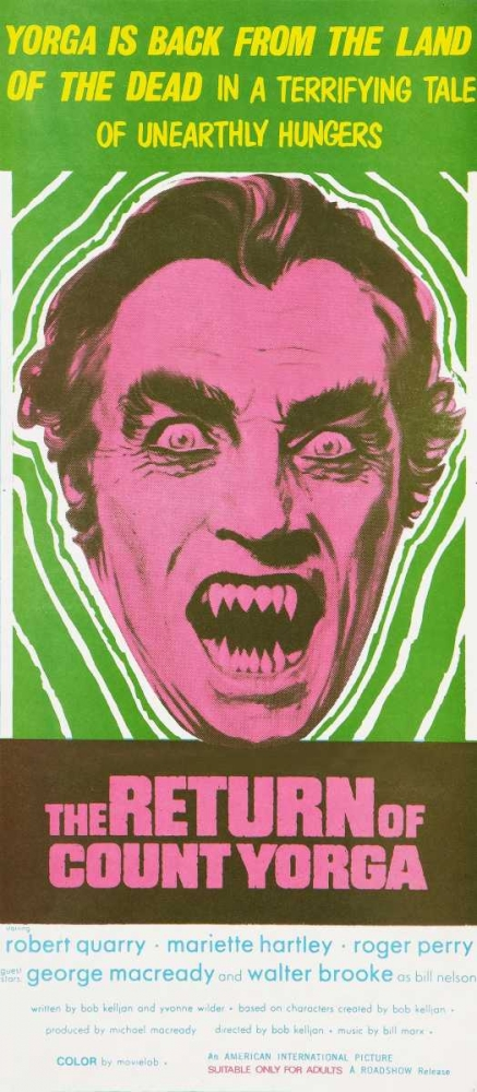 THE RETURN OF COUNT YORGA Everett Collection 115385