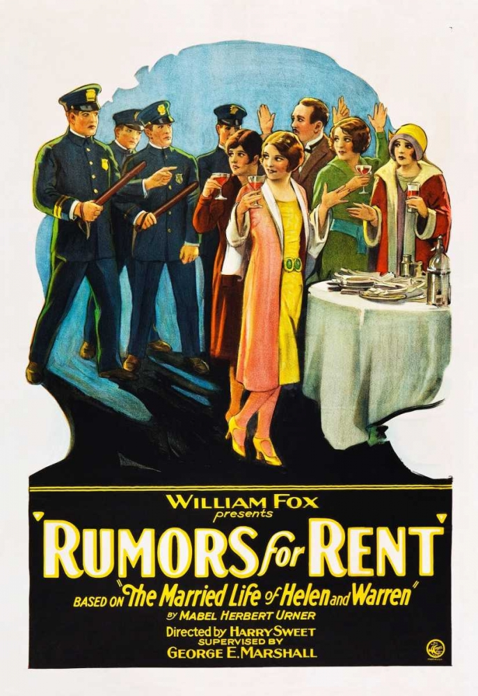 RUMORS FOR RENT Everett Collection 108729
