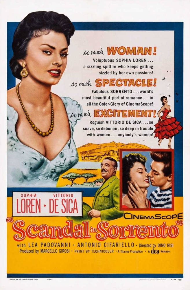 SCANDAL IN SORRENTO Everett Collection 113747