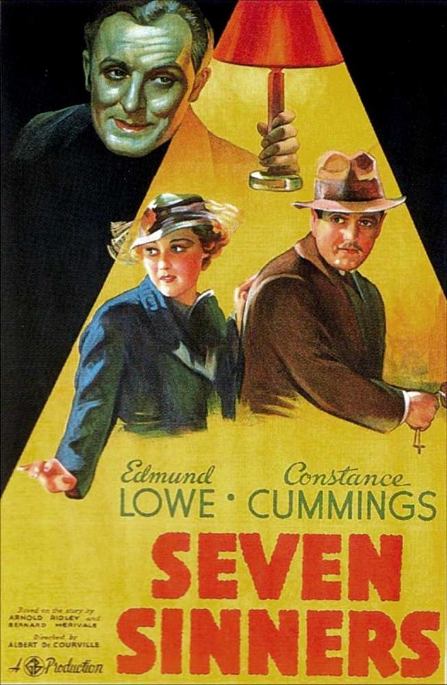 SEVEN SINNERS Everett Collection 110405