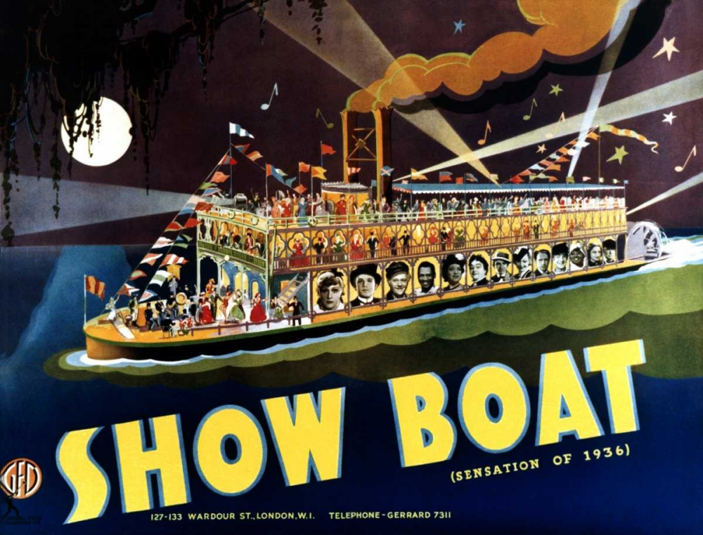 SHOW BOAT Everett Collection 111449