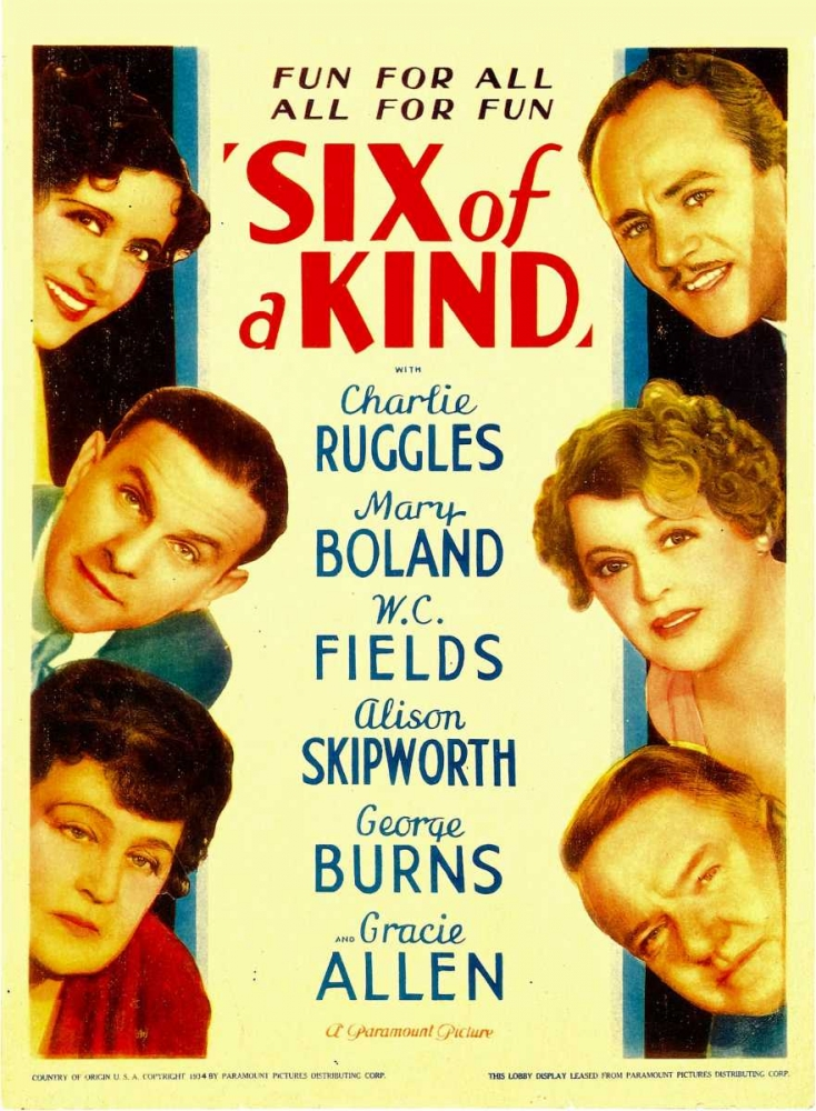 SIX OF A KIND Everett Collection 109920