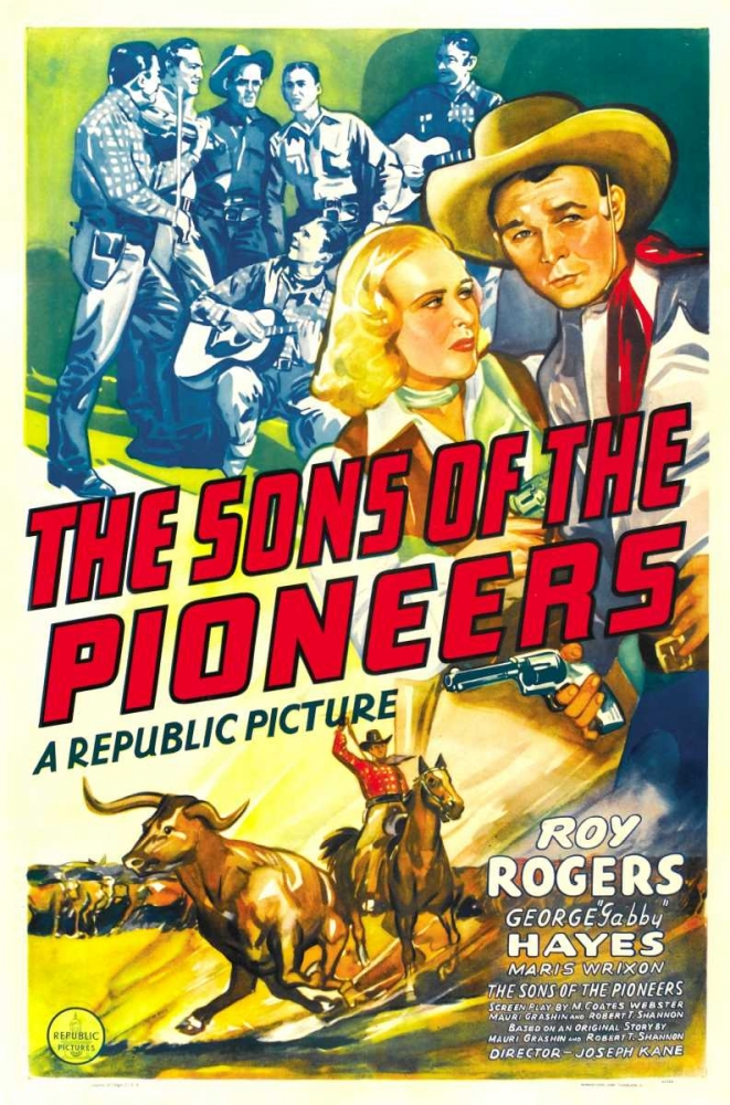 SONS OF THE PIONEERS Everett Collection 111956