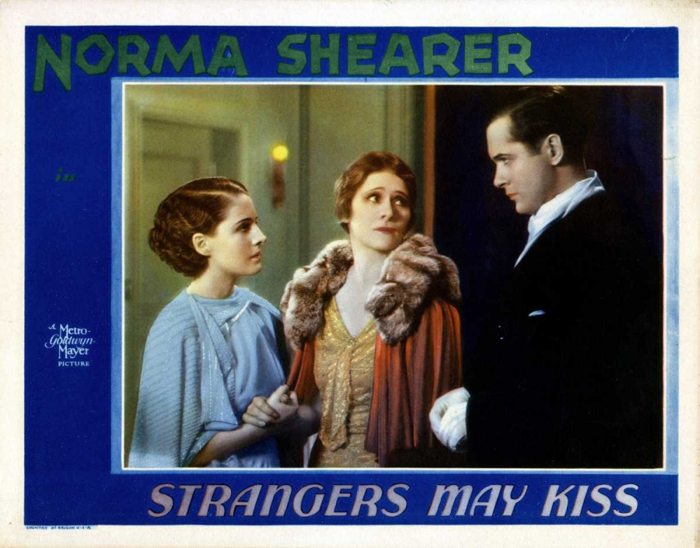 STRANGERS MAY KISS Everett Collection 111249