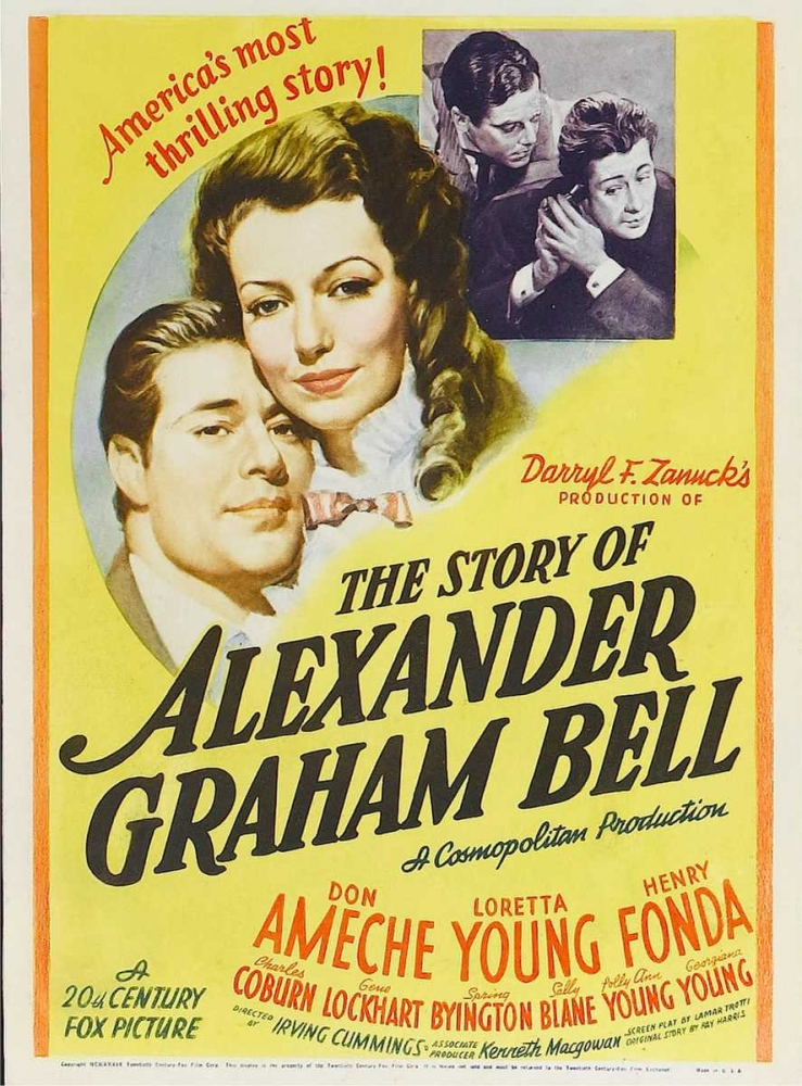 THE STORY OF ALEXANDER GRAHAM BELL Everett Collection 111021