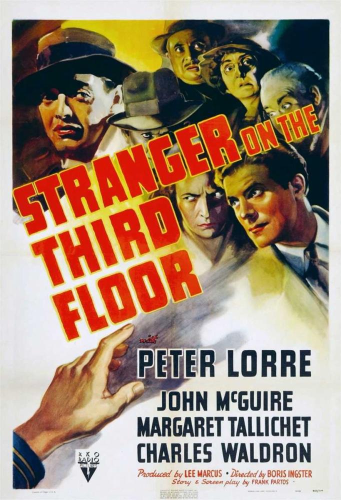 STRANGER ON THE THIRD FLOOR Everett Collection 111766