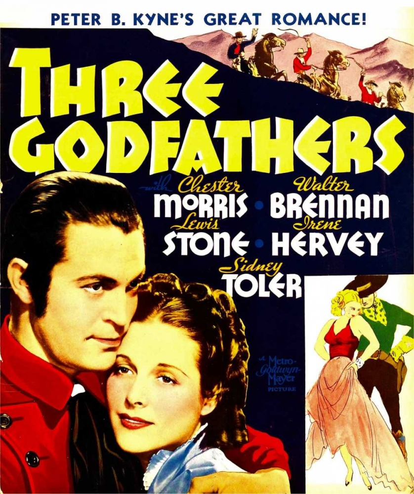 THREE GODFATHERS Everett Collection 110341
