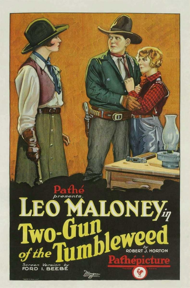 TWO-GUN OF THE TUMBLEWEED Everett Collection 108715