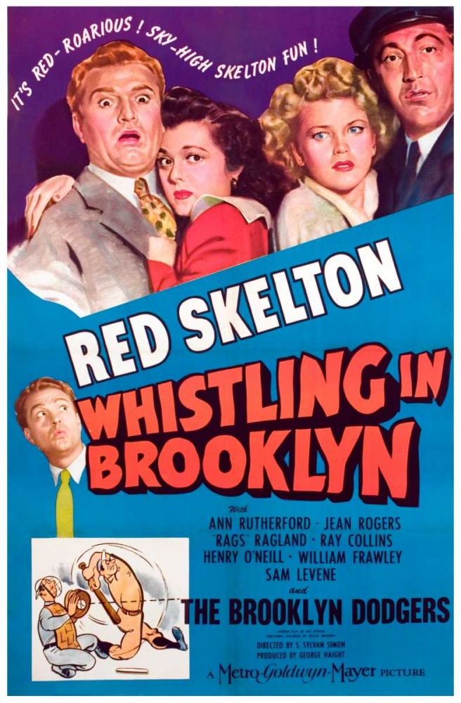 WHISTLING IN BROOKLYN Everett Collection 112112