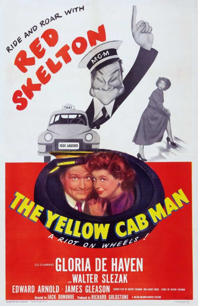 THE YELLOW CAB MAN Everett Collection 113115