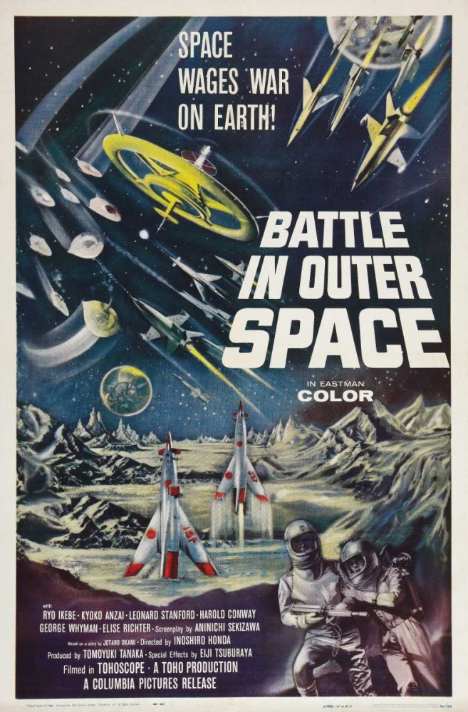 BATTLE IN OUTER SPACE Everett Collection 113838