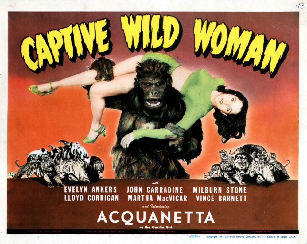 CAPTIVE WILD WOMAN Everett Collection 112059